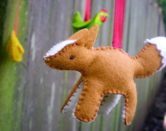 Little Red Fox (and the Hens) - pdf sewing pattern