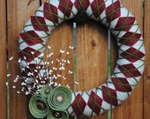 Holly Jolly Christmas Wreath
