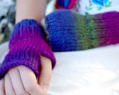 Unearthly Sunset Adult Fingerless Gloves