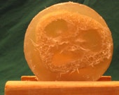 Cucumber Loofah Soap - Glycerin - Vegan Friendly - Free Shipping