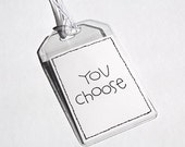 LUGGAGE TAGS (1) - You Choose (any print from my shop)