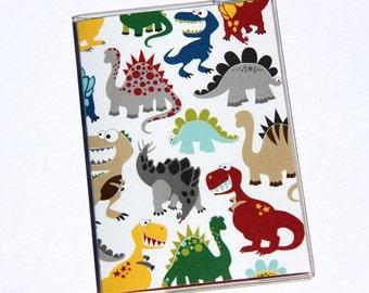 PASSPORT COVER - Happy Dinosaurs
