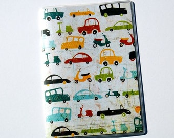 PASSPORT COVER - Cars, and Buses, and Scooters