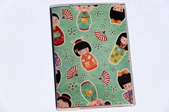 PASSPORT COVER - Fans and Kimonos