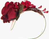 Rosette - flower headband