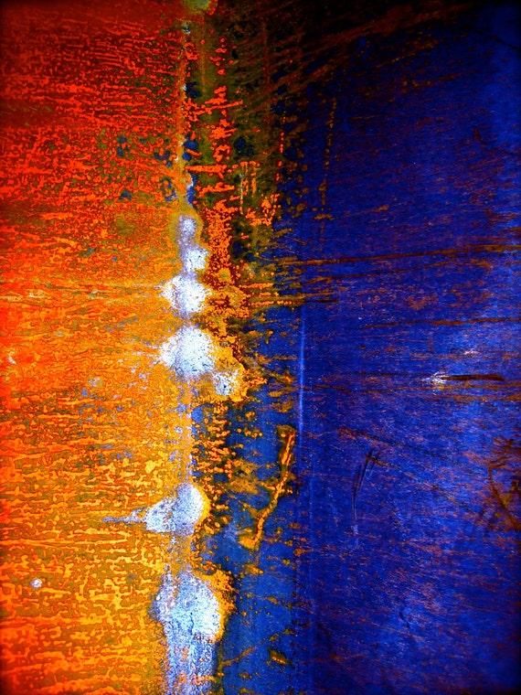 Study 18 x 24 Abstract Giclee Print on Stretched Canvas - Photograph by Josh Martin