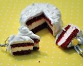 Red Velvet Cake Jewelry Set