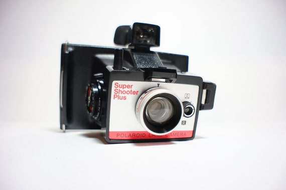 Polaroid Camera  Super Shooter Plus w/ Case - Film Tested Working