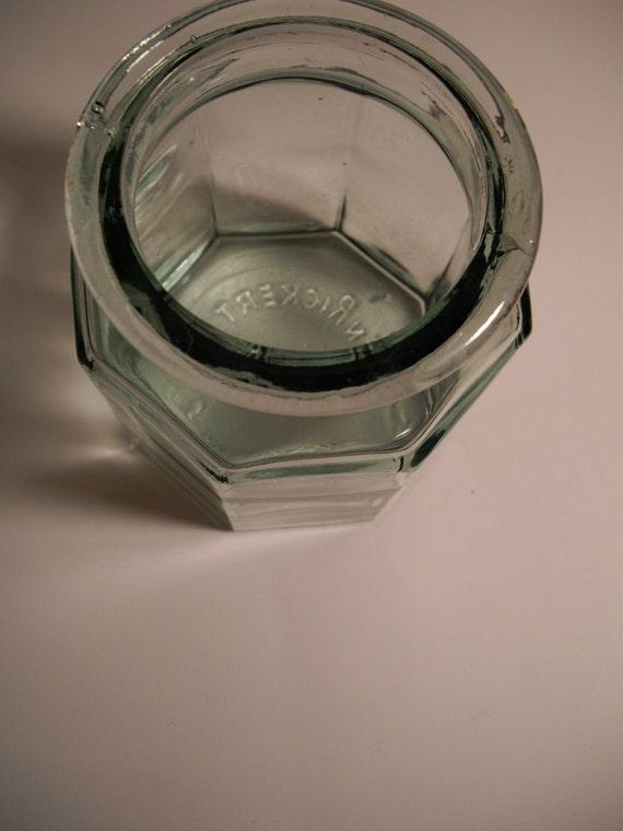 Vintage Apothecary Jar Ben Rickert Wayne By