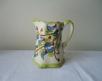 vintage cash family clinchfield artware pottery pitcher 1940s