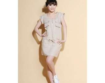 Air of Simplicity Casual Mini Dress/ Any Size/ 27 Colors/ RAMIES