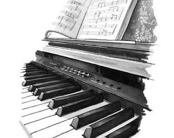Keyboard - print