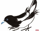 Magpie - Notecard, set of 5