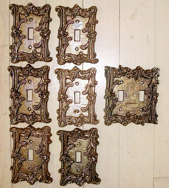 vintage decorative iron switch plates sale 7 hollywood - Decorative Switch Plates