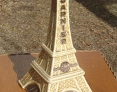 Vintage French Eiffel Tower Figural Decanter