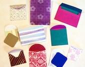 Mini Envelopes - mixed designs