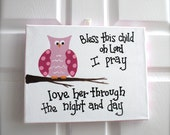 11 x 14 READY TO SHIP Original Acrylic Painting - Art - Children's Art - Canvas - Scripture -
