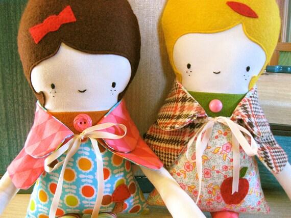 Mod Maisy Fabric Doll