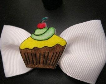Cupcake Barette