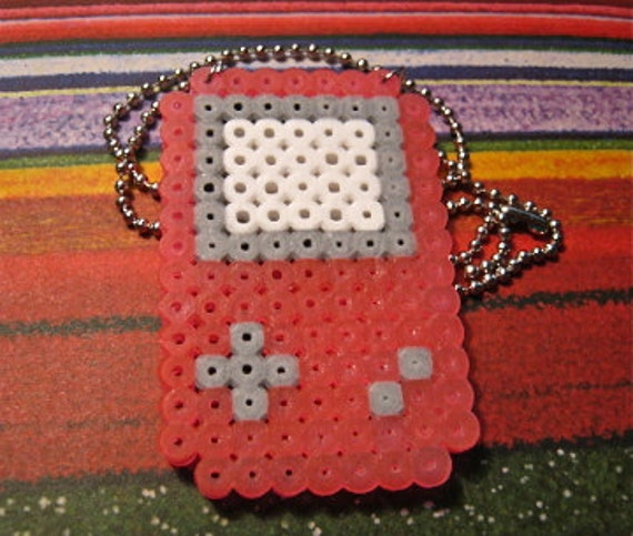 Pink Gameboy Necklace