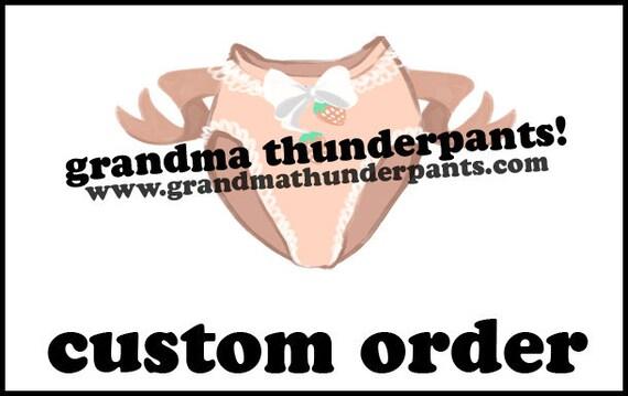 Custom Order for kenthenderson