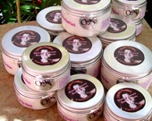 4 Jars 5.5 Oz. each YOU CHOOSE the SCENT. Shea and Cocoa Body Cream. Shea and Cocoa Butters w/Vitamins and Japanese Green Tea. Paraben free.