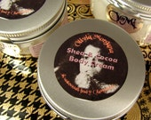 THE CLOWN At The End Of The Rope body cream. Shea And Cocoa Body Butters, Vitamins, Japanese Green Tea, Oils. Natural, Vegan. Paraben free.