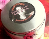 5 PINK SECRETS. Body Cream. Shea and Cocoa Butters. Scented, Natural. Vitamins, Japanese Green Tea, Oils. Paraben free. Olivia Morgana.