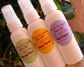 PEPPERMINT SWIZZLE STICK Oil Spray Body & Hair. Vegan. Rice Bran Oil, Fractionated Coconut Oil, Argan Oil, Vitamin E. Olivia Morgana.