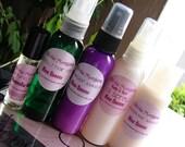 YOU CHOOSE 5. Perfume Roll On, Body Hair Mist, Detangler Leave In, Body Hair Oil Spray, Conditioner Leave In. Olivia Morgana.