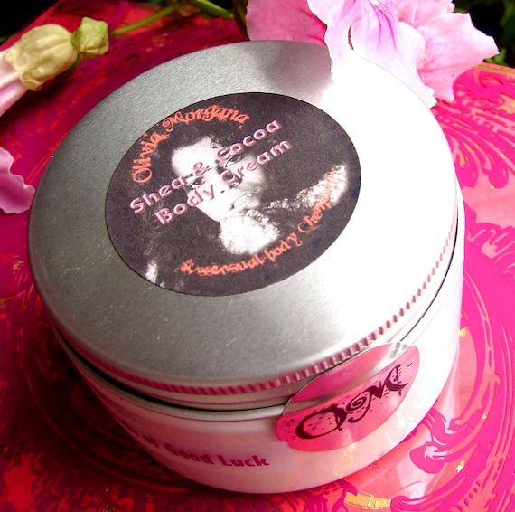 DORIAN GREY Secrets Body Cream. Scented Shea & Cocoa Butters, Vitamins, Japanese Green Tea, Oils. Natural. Paraben free. Olivia Morgana.