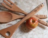 CHAMBERS FARM custom listing for utensils and rolling pin