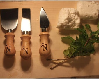 Cooking Gift/ Kitchen Gift- Personalized Cheese Knife Set