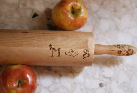 9 Wedding Rolling Pins for the guests of Justine, free shipping