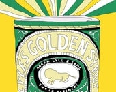 Golden Syrup - A3 Print