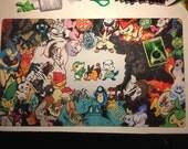 Pokemon Black & White Playmat