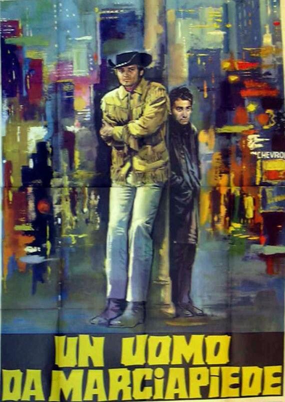 Midnight Cowboy Original 1969 Italian 4 Sheet Movie Poster