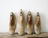 Vintage Wood Shoe Forms