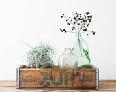 Vintage 7Up Soda Crate