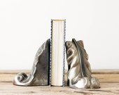 Vintage Feather Bookends