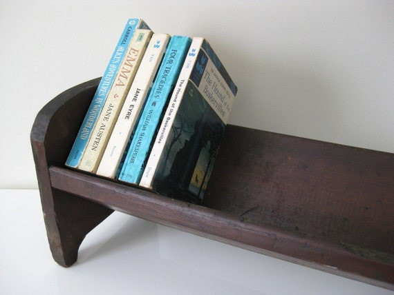 Small Slanted Bookshelf