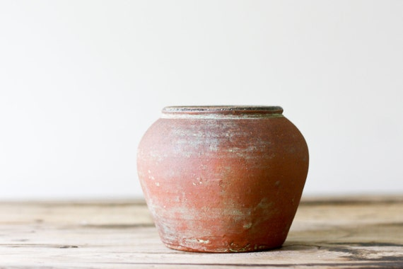 Rustic Pottery Vase