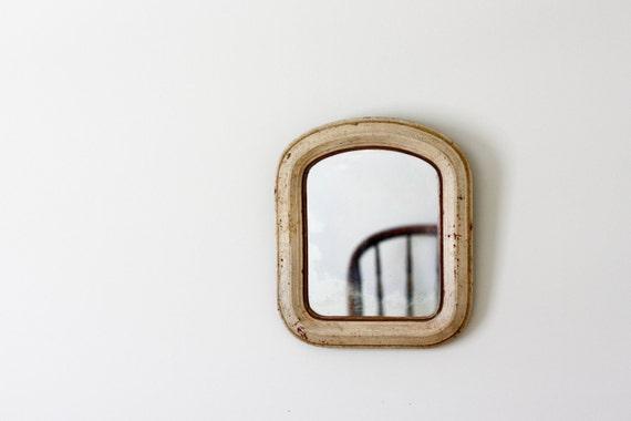 Distressed Antique Mirror