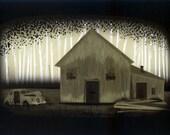 iOTA iLLUSTRATION - Barn Where Nobody Lives - Limited Edition Print