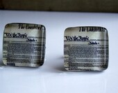 Constitution Glass Tile Cuff Links - 2.00 donated to Haiti relief