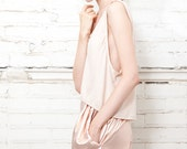no. 308 Nude Cropped Tank Top