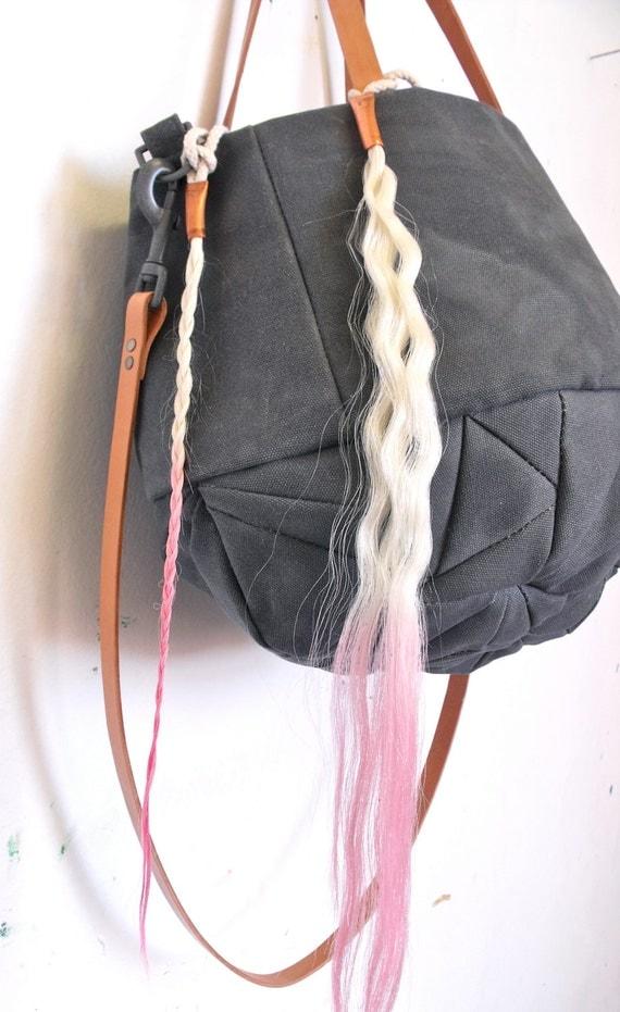 no. 314 Smokey Quartz tote bag - Reserved Cristina