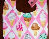What's The Scoop Ice Cream Bib