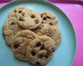 Gluten Free Chocolate Chip Cookies- Vegan and Delicious