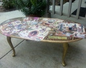 A Writers Tribute Coffee Table